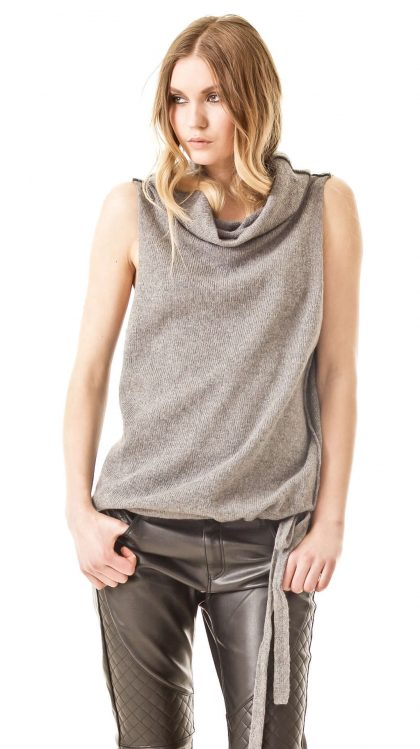 Cashmere vest CLAIRE | Cashmere sweaters and cardigans by Krista Elsta Knitwear