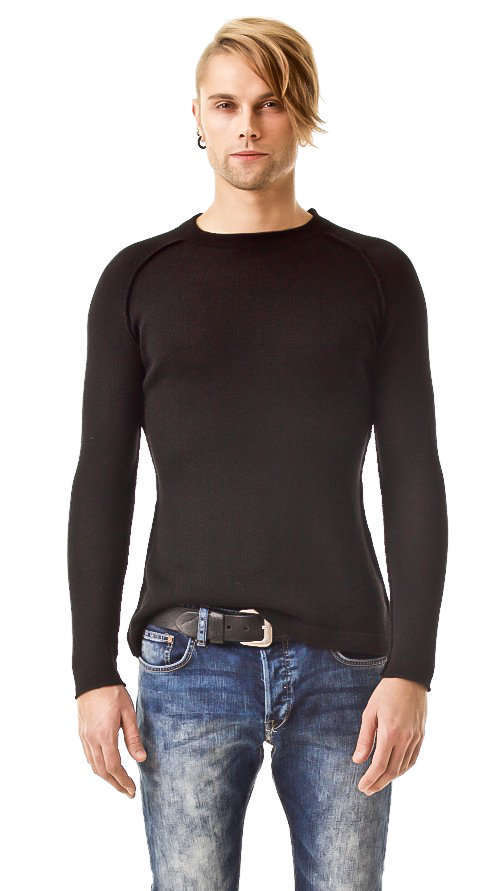 Men's sweater JEAN | Color: black