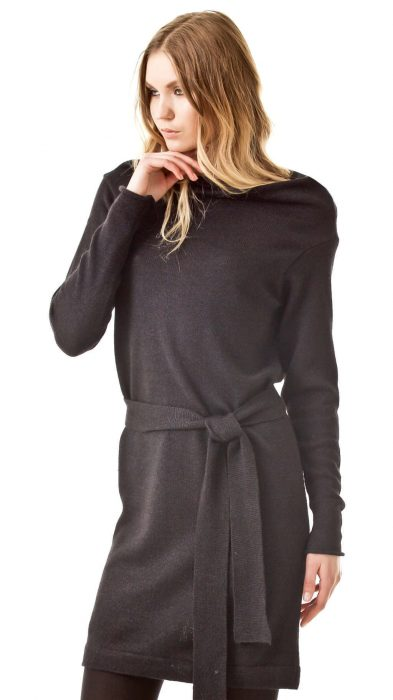 PATRICIA // knitted draped dress