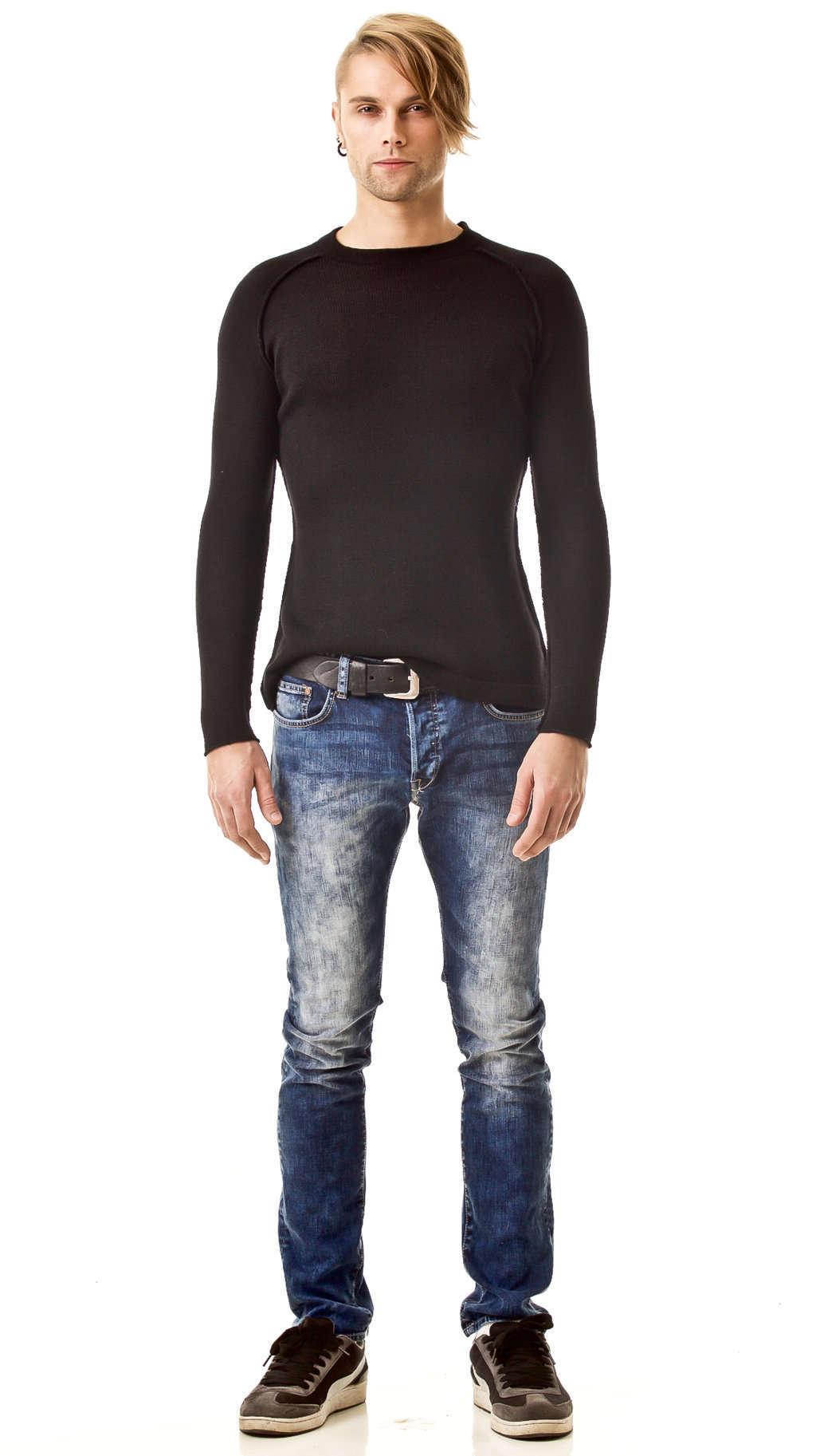 Men's sweater JEAN | Color: black