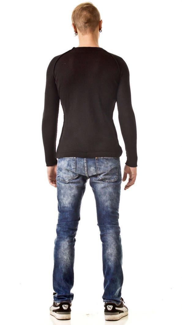 Men's sweater JEAN   Color: black