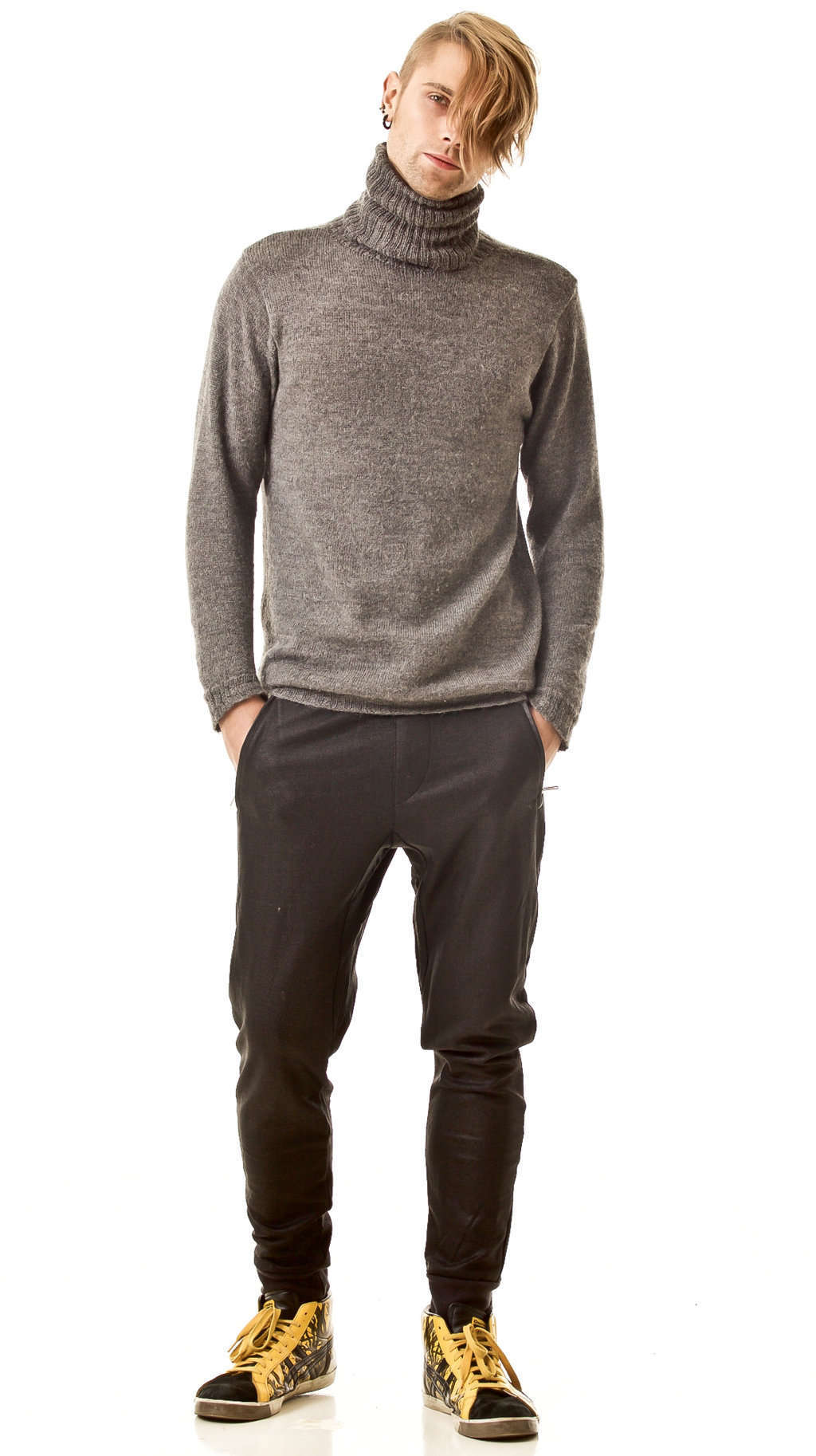 Knitted men's pullover PIERRE