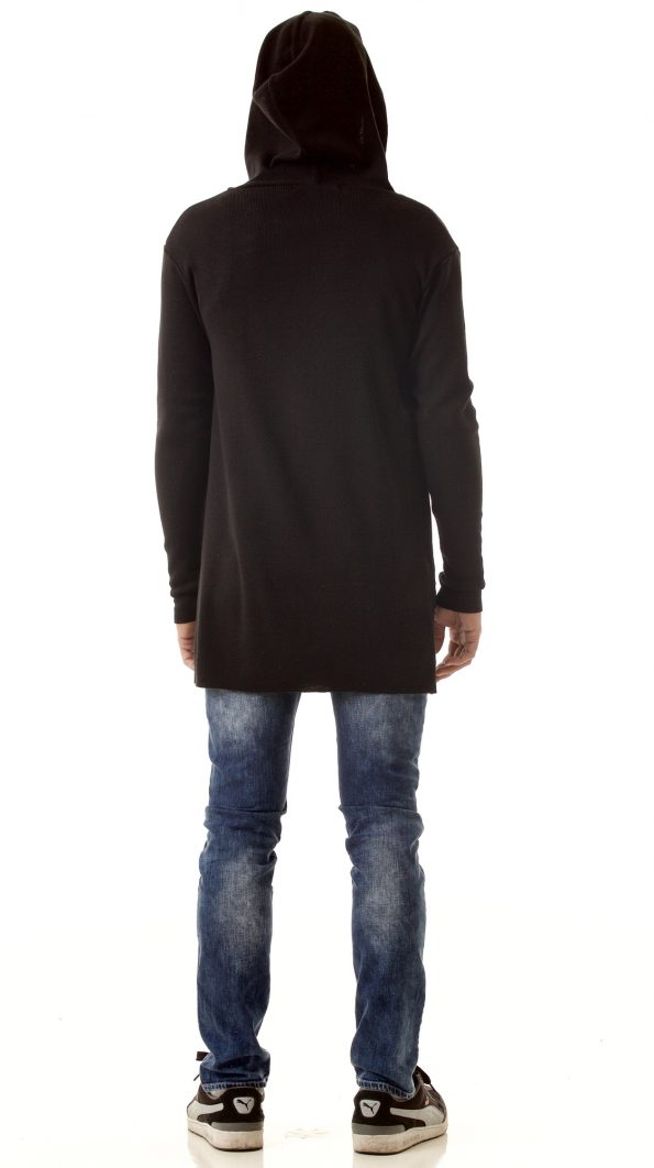 Mens zip up cardigan hoodie FRANK