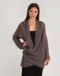 Chunky ribbed cardigan NOELLE
