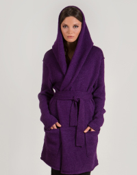 Purple hoodie MIRANDA