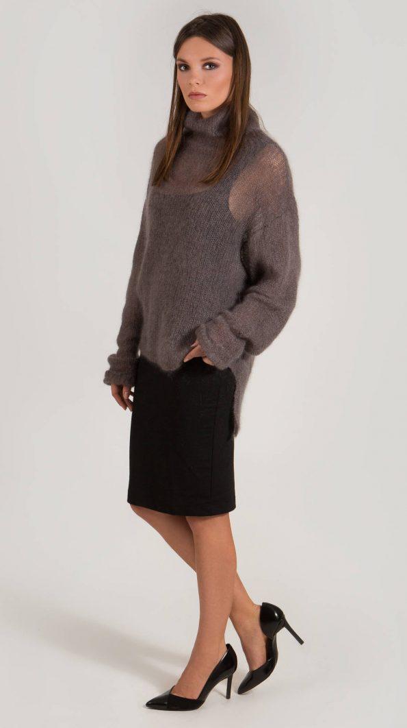 Ribbed turtleneck sweater EMMA