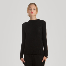 New arrivals: Women's cashmere crewneck sweater ANNA