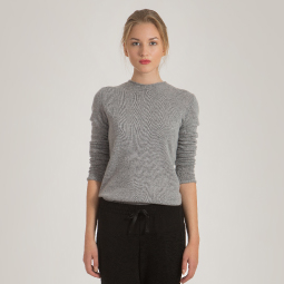 New arrivals: Women's cashmere crewneck sweater KAREN
