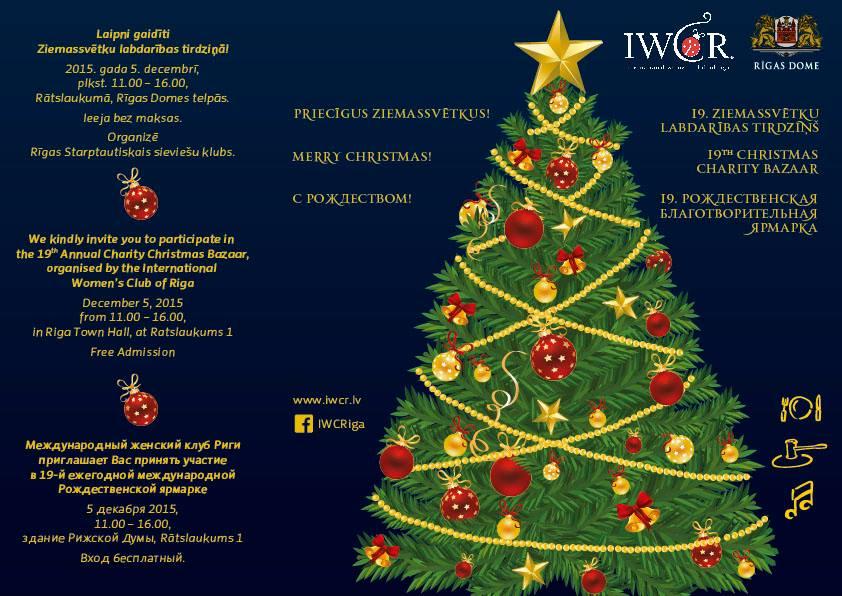 IWCR Christmas Bazaar