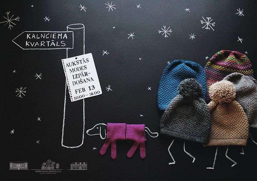 Aukstās modes izpārdošana Kalnciema ielā